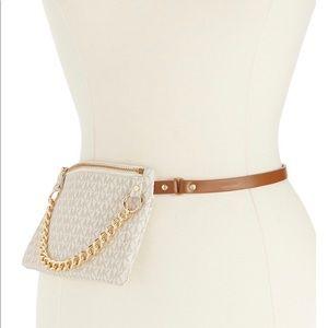 Michael Kors MK Logo Belt Bag Fanny Pack